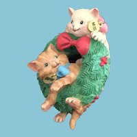 1996  'First in a Collectible Series'  Carlton Cards, Heirloom Collection,  'Merry Mischief' M-I-B Christmas Ornament.