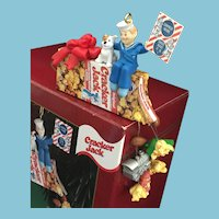 2000  Carlton Cards, Heirloom Collection, 'A Cracker Jack Christmas' M-I-B Christmas Ornament.