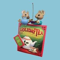 1997 Hallmark Keepsake porcelain Christmas Ornament 'Friendship Blend