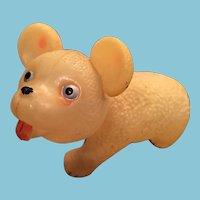 Vintage Celluloid Honey Bear Nodder Toy