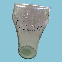 Vintage Green Pebbled Classic Coca Cola Jumbo Bell Glass