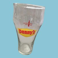 Vintage 14oz Denny's Coca-Cola Glass