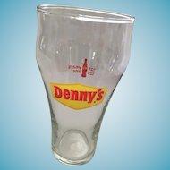 Vintage 14oz Denny's Coca-Cola Glass