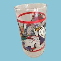 1995 'Coca-Cola' Polar Bear Sports Glass
