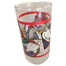 1995 'Coca-Cola' Polar Bear Sports Glass