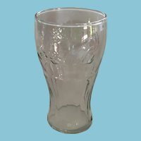 Vintage 18 oz. Glass Embossed with the 'Coca-Cola' Logo