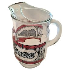 1970s-era 'Enjoy Coca-Cola' Pitcher Made in the USA
