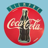 1993 - 'Siempre Coca-Cola' (Always Coca-Cola) Battery Clock