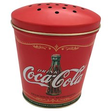 1991 Mint Sugar/Flour Coca-Cola Tin shaker