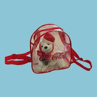 1998 'Trink Coca-Cola' Polar Bear and Back Pack