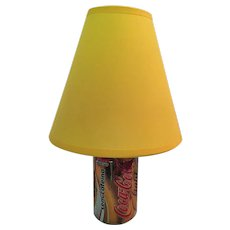 Lamp from a Re-cycled 'Coca-Cola Light' Can