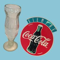 Converted 'Diet Coke' bottle and a Large Coca-Cola Sticker.