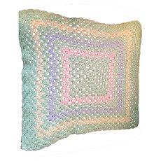 Hand-Crocheted Woolen Dolly Afghan Blanket