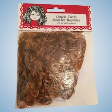 1996 Fibre Craft sealed package of Quick Curls