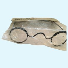 Mint-in-Package John Lennon-style Round Wire Glass Frames