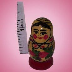 Miniature Babuska Wooden Russian Doll
