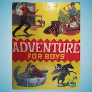 'Adventure for Boys' Hardcover 1968 Story Book