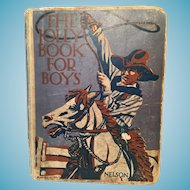 The Jolly Book for Boys by M.Lane Foster (1927)