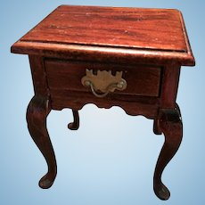 Sweet Wooden Doll House Side Table