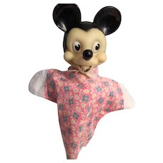 Vintage Walt Disney's Mickey Mouse Hand Puppet