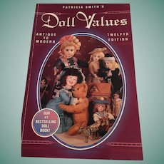 'Patricia Smith's Values - Antique to Modern. Twelfth Edition (1996)