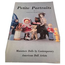 'Petite Portraits' Miniature Dolls by Contemporary American Doll Artists book