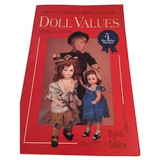 'Patricia Smith's Doll Values - Antique to Modern (Eighth Edition) Collector Books