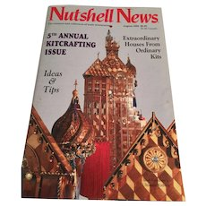 'Nutshell News' for collectors of scale miniatures (August, 1992)