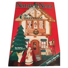'Nutshell News' for collectors of scale miniatures (December, 1992)