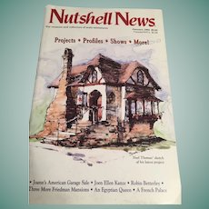 'Nutshell News' for collectors of scale miniatures (January, 1993