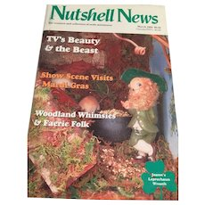 'Nutshell News' for collectors of scale miniatures (March, 1993)