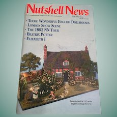 'Nutshell News' for collectors of scale miniatures (April, 1993)
