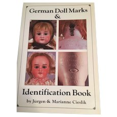 'German Doll Marks Identification Book (1986) by Jurgen and Marianne Creslik