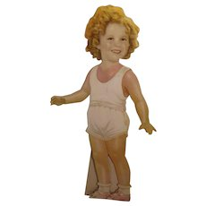 Sweet Shirley Temple Cutout Doll with Clothing Collection and Accessories