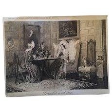 1915 Christmas 'Weldon's Bazaar Scandal and Tea' Photographic print