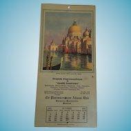 Santa Maria Della Salute, Venice'' 1923 Calendar