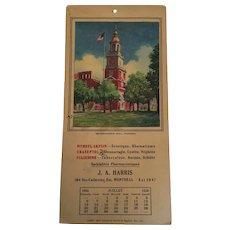 Independence Hall, Philadelphia'' 1924 Calendar