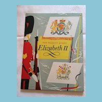 1953 Commemorative Hardcover Book on HRH Queen Elizabeth II