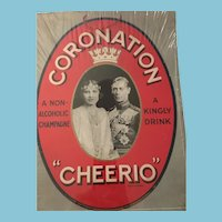 A Kingly Drink Advertising to celebrate the King's Coronation on 12th May 1937