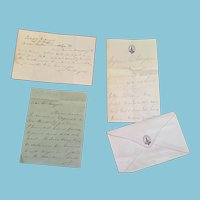 Late 1800s Correspondence from Henry J. Morgan, Canadian historian and Dominion Archivist