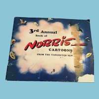 1953-54 3rd Annual Book of Norris - Cartoons from the Vancouver Sun