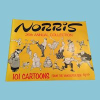 1976-77 26th Annual Book of Norris - Cartoons from the Vancouver Su