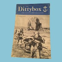 March 1945 'The Dittybox - The Navy's Own Magazine'