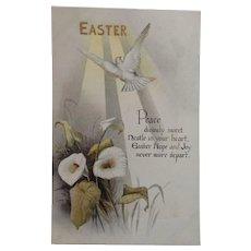 Circa 1920s Sweet Signed Unused Easter Tuck's Postcard