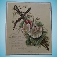 Circa 1911 Religious Easter Card Copyright and Signed