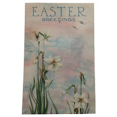 Circa 1910-20s Sweet Card Copyright in the Easter Series 9