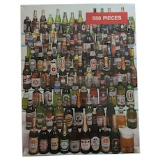 1987 Mint-in-Box 550 piece '99 Bottles of Beer on the Wall' Jigsaw puzzle
