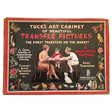 Century Old 'Tuck's Art Cabinet of Beautiful Transfer Pictures - The Finest Transfers on the Market