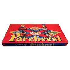 Circa 1940s - early 50s 'Game of Parcheesi' a Somerville Game
