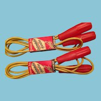 Group of Two Circa 1940-50s Mint-in-Packaging Barbara Ann Skipping Ropes